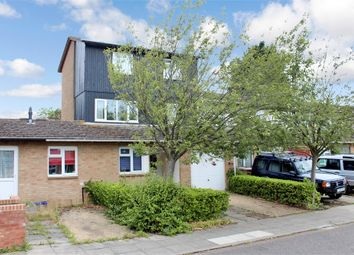 Thumbnail 3 bed town house for sale in Arbrook Avenue, Bradwell Common, Milton Keynes, Buckinghamshire