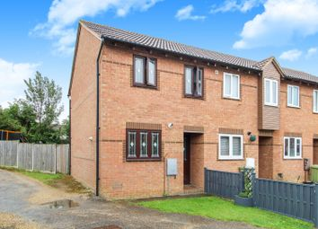 Thumbnail 2 bedroom end terrace house for sale in Hexham Gardens, Bletchley