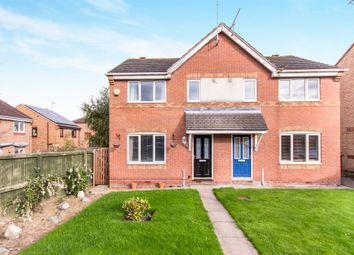 Thumbnail 3 bed semi-detached house for sale in Coleridge Way, Pontefract