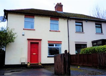 Thumbnail 3 bed semi-detached house for sale in Graymount Terrace, Newtownabbey