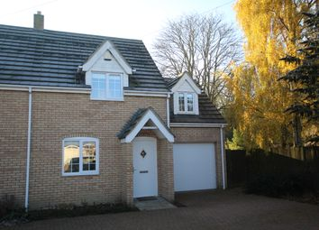 Thumbnail 3 bed semi-detached house to rent in Vicarage Avenue, Sawston, Cambridge