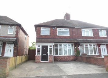 Thumbnail 3 bedroom property to rent in Crompton Road, Pleasley, Mansfield