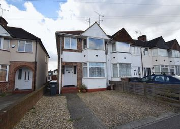 Thumbnail 3 bed end terrace house for sale in Willow Way, Luton