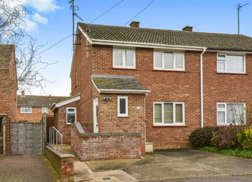 Thumbnail 3 bed semi-detached house for sale in Ousebank Way, Stony Stratford, Milton Keynes