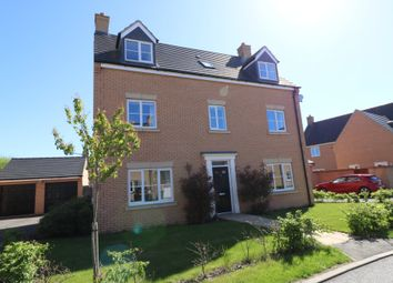 Thumbnail 5 bed detached house for sale in Kides Crescent, Longstanton, Cambridge