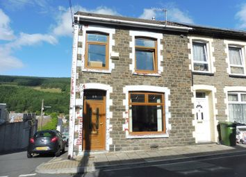 Thumbnail 3 bed end terrace house for sale in Consort Street, Mountain Ash