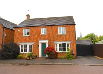 Thumbnail 4 bedroom detached house for sale in Murphy Drive, Bagworth, Coalville