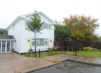 Thumbnail 4 bed detached house for sale in Duffryn Close, Coychurch, Bridgend.