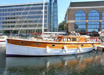 Thumbnail 2 bed houseboat for sale in West Dock Pontoon N13, St Katharine Docks, Wapping