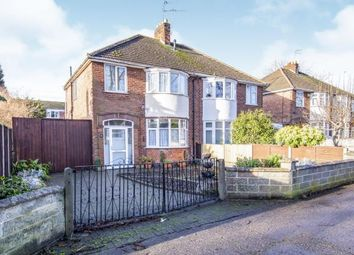 Thumbnail 3 bed semi-detached house for sale in Gimson Road, Leicester, Leicestershire