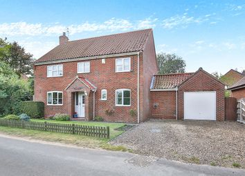 Thumbnail 4 bed detached house for sale in Rectory Road, Lyng, Norwich