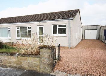 Thumbnail 2 bed semi-detached bungalow for sale in Grampian Drive, Northmuir, Kirriemuir