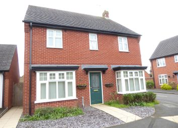 Thumbnail 4 bed detached house for sale in Donington Drive, Woodville, Swadlincote