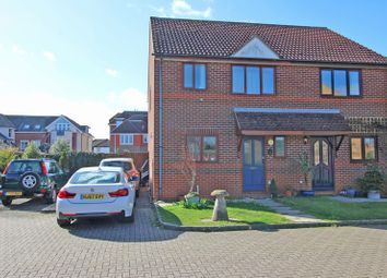 Thumbnail 3 bed semi-detached house for sale in Champion Close, Milford On Sea, Lymington