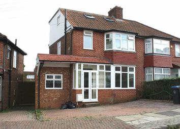 Thumbnail 5 bedroom semi-detached house for sale in Crummock Gardens, Kingsbury, Kingsbury, London
