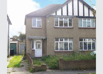 Thumbnail 3 bed semi-detached house for sale in 95 River Way, Nr Epsom, Surrey