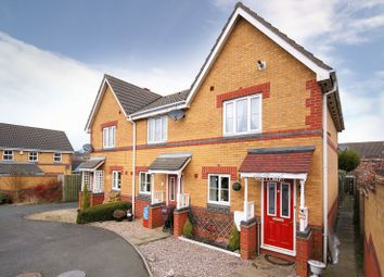 Thumbnail 2 bed terraced house to rent in Yellowstone Close, St. Georges, Telford