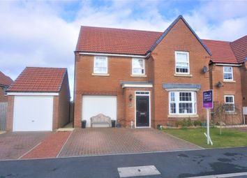 Thumbnail 4 bed detached house for sale in Elliott Way, Consett