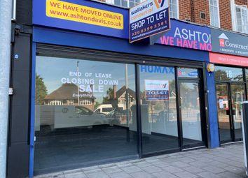 Ace Parade Hook Road, Chessington KT9. Retail premises to let
