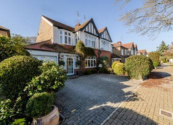 Thumbnail 4 bed semi-detached house for sale in Barrow Point Avenue, Pinner, London
