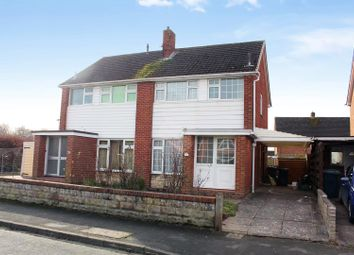 Thumbnail 3 bed semi-detached house for sale in Reabrook Avenue, Shrewsbury