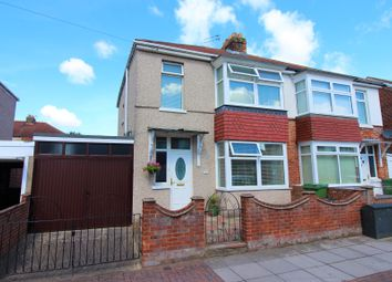 Thumbnail 3 bed semi-detached house for sale in Paignton Avenue, Portsmouth