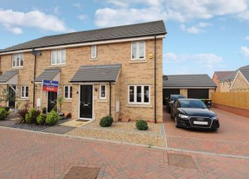 Thumbnail 3 bed end terrace house for sale in Rope Leys, New Cardington