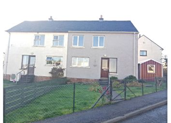 Thumbnail 3 bed semi-detached house for sale in Ord Place, Lairg