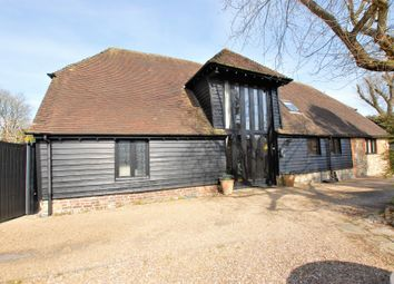 Canterbury Road, Etchinghill CT18. 4 bed barn conversion for sale