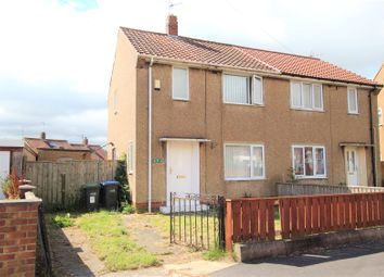 Thumbnail 2 bed semi-detached house for sale in Ullswater Crescent, Crook, County Durham