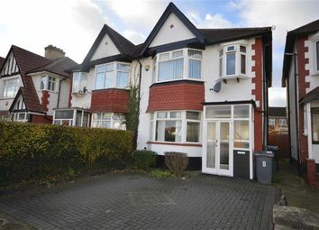 Thumbnail 3 bed semi-detached house for sale in Meadow Way, Wembley, Middlesex