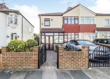 Thumbnail 3 bed end terrace house for sale in Rothbury Avenue, Rainham