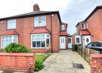 Thumbnail 2 bed semi-detached house for sale in Cresswell Road, Wallsend
