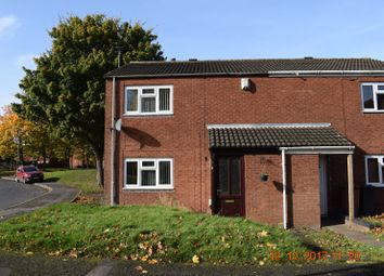 Thumbnail 2 bed terraced house to rent in Star Close, Walsall, West Midlands