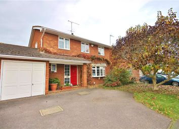Thumbnail 4 bed detached house for sale in Jasmine Close, Goldsworth Park, Woking