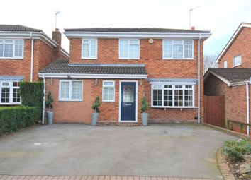 Thumbnail 4 bed detached house for sale in Inchford Road, Solihull