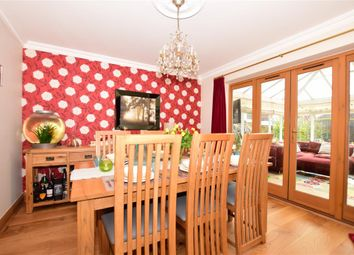 Thumbnail 4 bed detached house for sale in Sandpiper Road, Hawkinge, Folkestone, Kent
