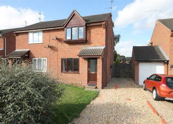 Thumbnail 2 bed semi-detached house for sale in Nelson Road, Balderton, Newark, Nottinghamshire.