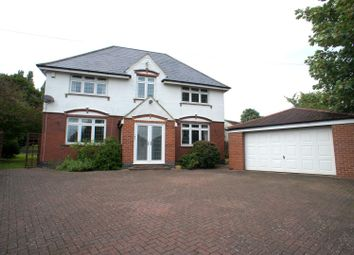 Thumbnail 5 bed detached house to rent in Allestree Lane, Allestree, Derby