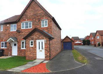 Thumbnail 3 bed semi-detached house for sale in Barnes Close, Kirkby, Liverpool