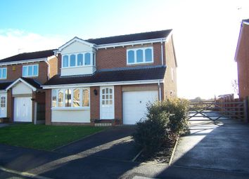 Thumbnail 4 bed detached house to rent in Kingfisher Close, Durkar, Wakefield