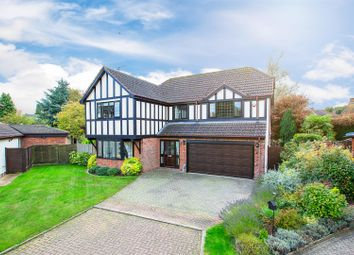 Thumbnail 5 bed detached house for sale in Dallington Close, Geddington