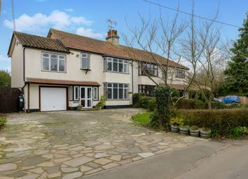 Thumbnail 4 bed semi-detached house for sale in Rebels Lane, Great Wakering, Southend-On-Sea