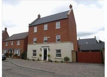 Thumbnail 6 bed detached house for sale in Nightingale Gardens, Rugby