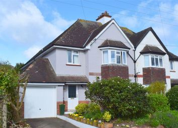 Thumbnail 4 bed semi-detached house for sale in Swains Road, Budleigh Salterton