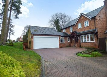 Thumbnail 4 bed detached house for sale in The Woodlands, Cold Meece, Stone, Staffordshire