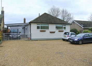 Thumbnail 2 bed detached bungalow for sale in South Road, Bourne, Lincolnshire