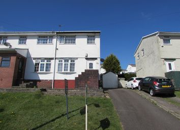 Thumbnail 2 bed semi-detached house for sale in Meadow Rise, Brynna, Pontyclun, Rhondda, Cynon, Taff.