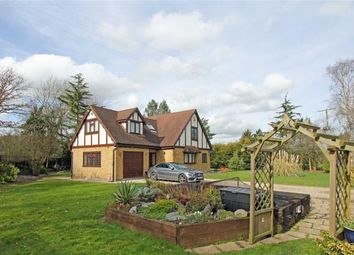 Thumbnail 3 bed detached house for sale in Ashwells Road, Pilgrims Hatch, Brentwood