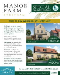 Thumbnail 4 bed detached house for sale in Manor Farm, Newmarket Road, Stretham